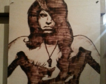 Glenn Danzig Wood Burning