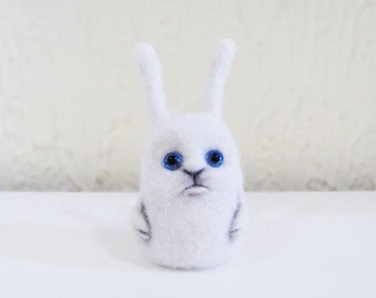 Christmas gift - Felt doll - Handmade toys - Miniature - Needle felting - Felt toys - Figurines - Christmas - Gifts for her - for men - toys
