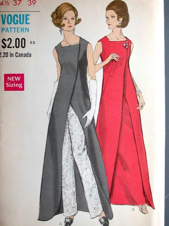 Vogue Dress Pattern No 7672 Uncut Vintage 1960s Size 14 1 2