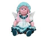 "PDF Amigurumi Pattern Angel - Crochet Angel Pattern 16 "" August  Angel - (7329) Td creations"