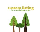 Custom Listing for Kelly (genau321)