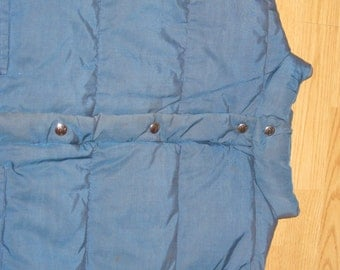 Vintage 1970s Woolrich Bubble Down Vest