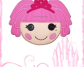 Jewel Sparkles Lalaloopsy No Sew Applique Patch