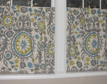 Premier Prints Suzani Cafe Curtains 80 Quot Wide X 30 Quot Long