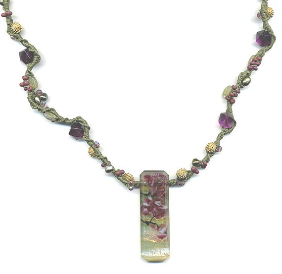 Bead Pattern Only Micro Macrame Jewelry By