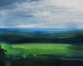 """Original 5"""" x 7"""" oil painting"""