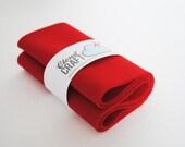 100 Percent Pure Wool Felt Roll - 12x90cm - Strawberry Field