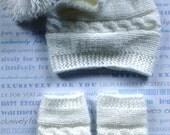 Baby boy set,Newborn boy hat and leg warmer set, newborn boy photo prop, hat and leg warmet set, newborn boy hat, baby boy hat