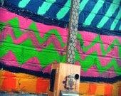 "Electric Cigar Box Slide Guitar - ""Honeybee"""