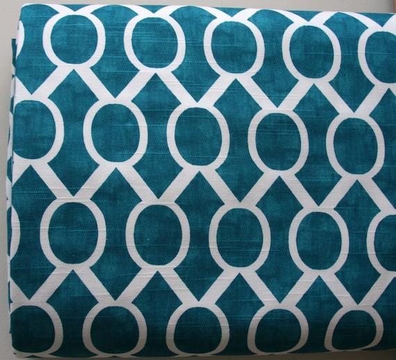 Sydney in Aquarius Slub Home Decor Weight Fabric from Premier Prints - ONE YARD Cut