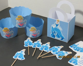 Cinderella Party Pack (Set of 12)