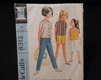 McCalls 8313, child size 14