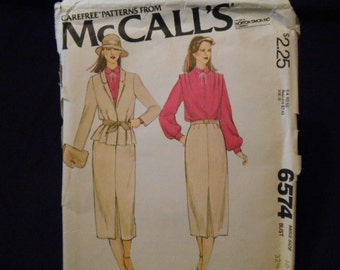 McCalls 6574, size 10