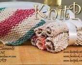 Custom Listing Bath Mitt in Jewel for Lary11004