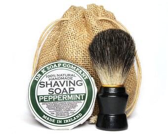 Shaving Soap and Shaving Brush Gift Set