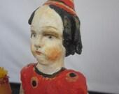 Hold for Panorama Nostalgic Folk Art,Carol Roll, Halloween Party Imp