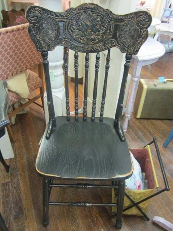 Hand Painted Shabby Chair Cottage Distressed