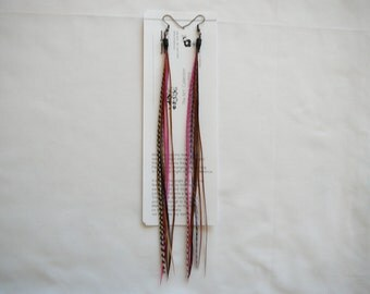 Feather Earings .......Tassel Looks........Long..... By TheMyCollection2