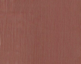 """60"""" Rust Iridescent Polyester Chiffon-15 Yards Wholesale by the Bolt"""