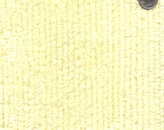 """56"""" 10oz Maize Cotton Chenille Fabric-13 Yards Wholesale By The Bolt"""
