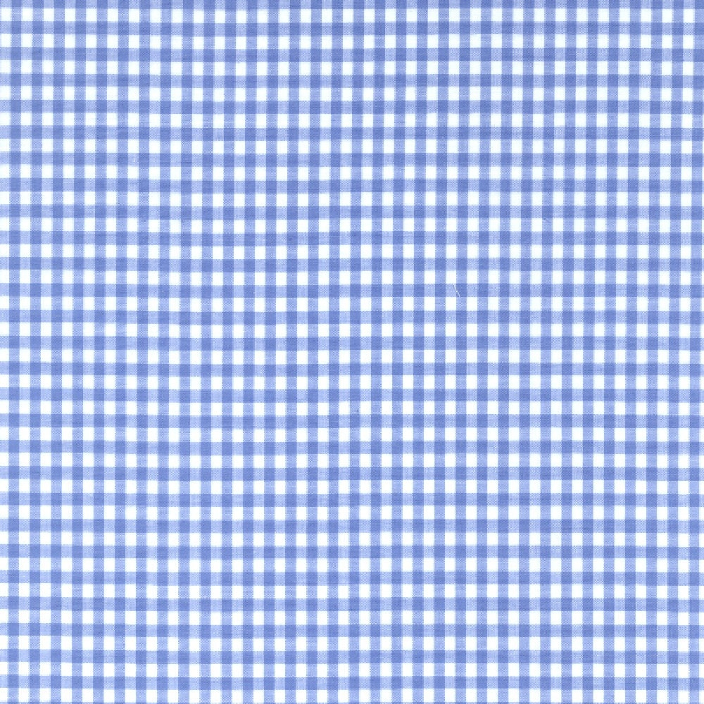 60 blue gingham check fabric 1 8 check 20 yards by the for Gingham fabric