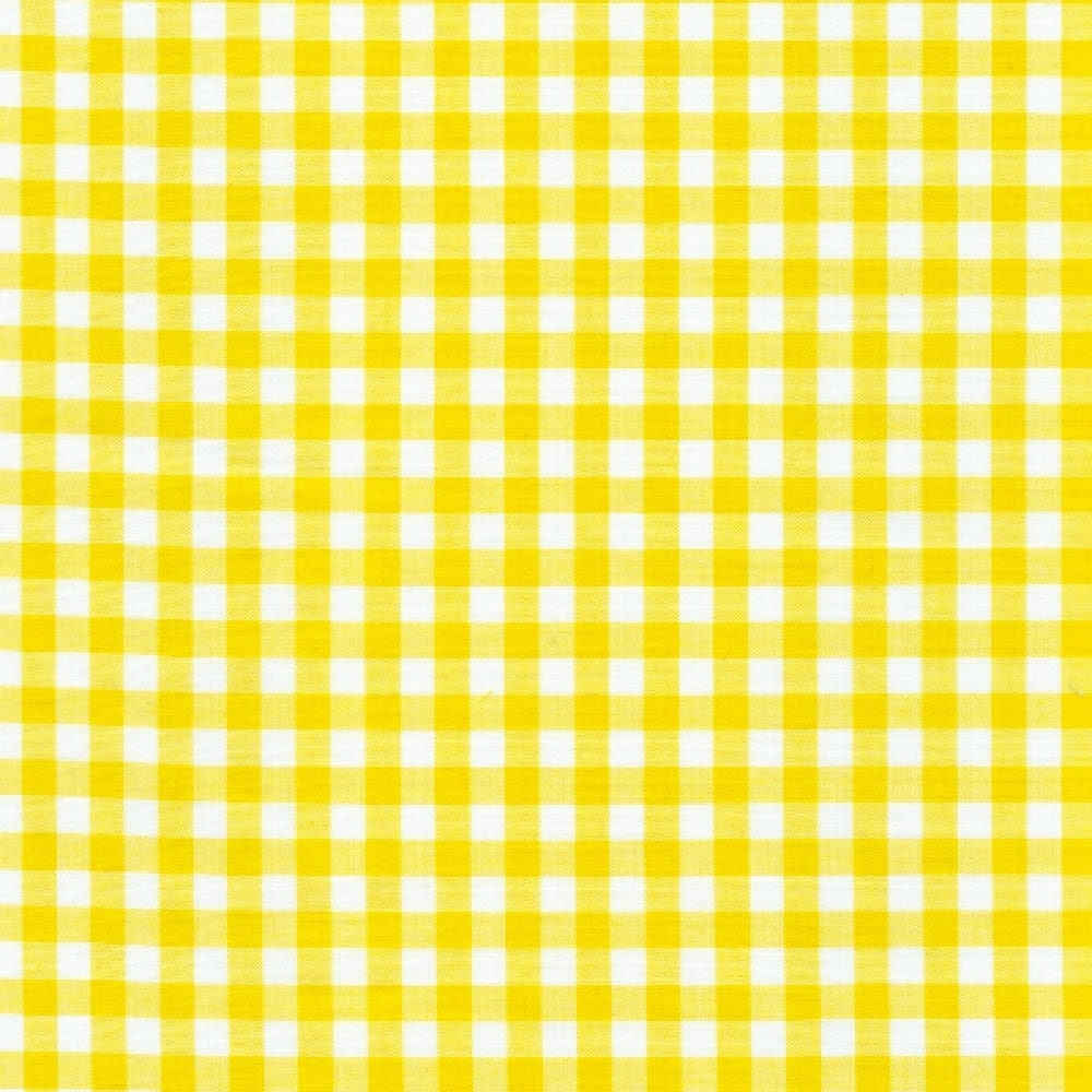 60 yellow gingham check fabric 1 4 check 20 yards by for Gingham fabric