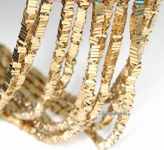 Gold Hematite G... Gold Hematite Beads