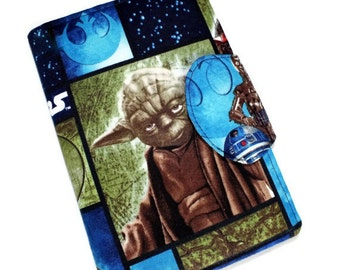 iPad Mini YODA Star Wars eReader Cover, Kindle Fire hd, Nook Cover, Kobo, Kindle Touch Cover, Kindle Paperwhite, Nexus 7