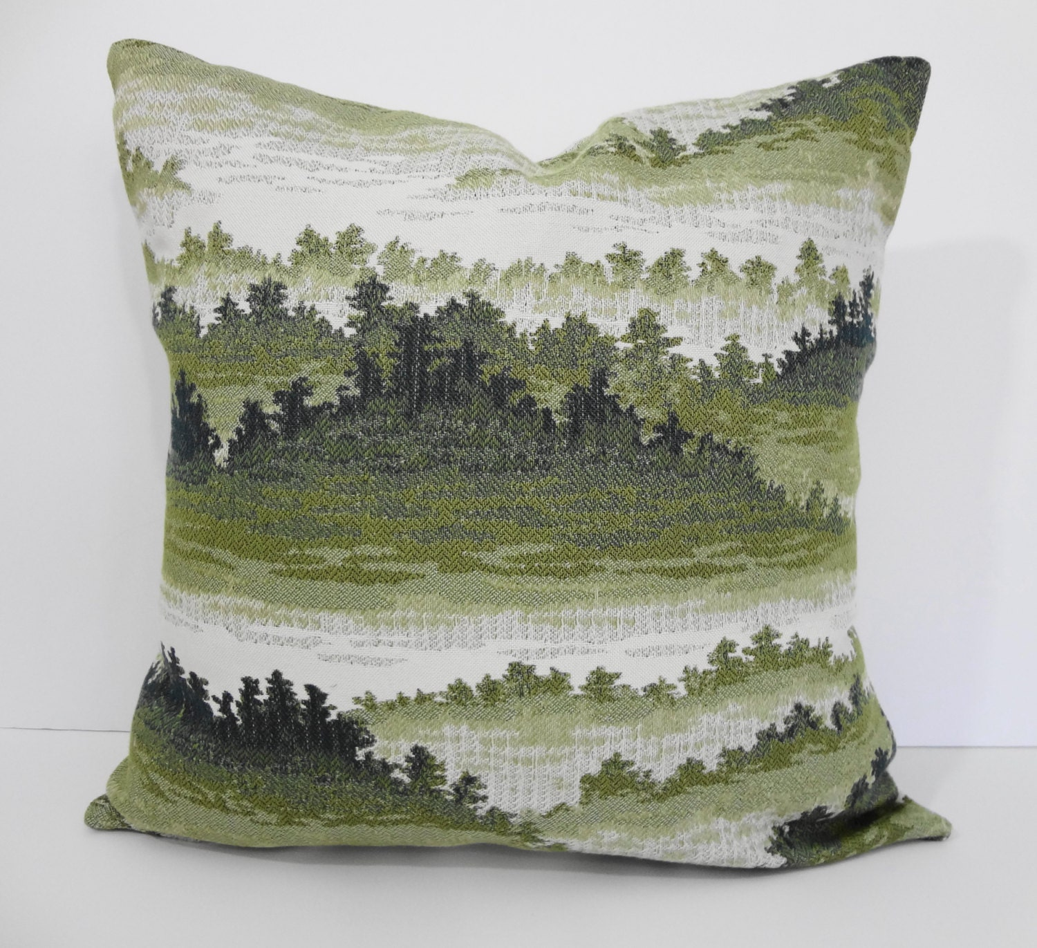 Decorative Pillow Cover Throw Pillow Cover Forest Green 18