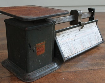 Vintage Triner Air Mail Accuracy Scale - 4 Pound Postal Scale (Chicago IL - 1948)