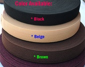 25 mm (1 inch) ELASTIC STRETCH Ribbon Trim/Tape/Velour/Band/Straps/trim trimming -for Clothing/Dress/Hair/Hat/Headband/Sew X 1 meter