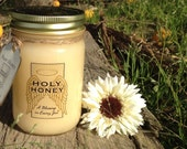 4qty 1 pound Jars of our famous creamy raw honeys by Holy Honey