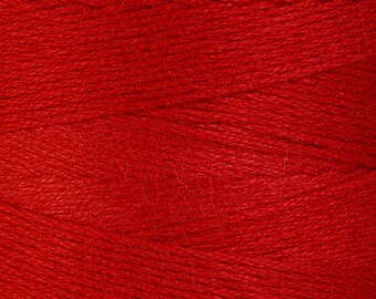 1mm Red cotton cord - 1mm twisted thread (878) - Flat rate shipping