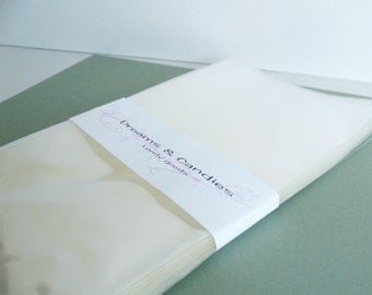 50- 5 x 10 Clear Cello Bags -Transparent Cello Bags -Food Safe Cello Bags -Clear Cellophane Bags -Food Safe Bags