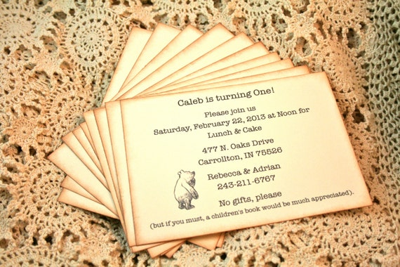 classic pooh baby shower invitations baby shower invitations