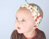 Little Hip Squeaks Headband // Single Retired Print // Untied