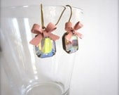 Sparkly glass stone earrings