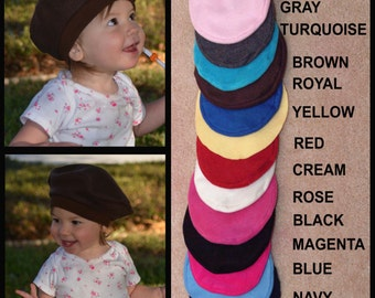 Kids French Beret Baby French Beret Kids Hats Kids Costume