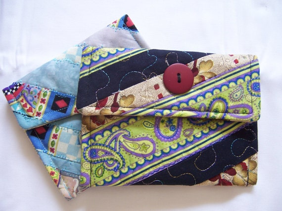 Quilted Coin Purse - Mini Coin Purse - Small Coin Purse - Womens Coin Purse - Ladies Coin Purse - Designer Coin Purse - Childrens Coin Purse