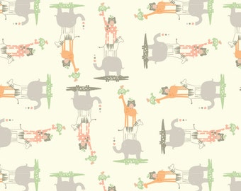 CLEARANCE SALE - Anthology Fabric - Lullaby Baby Collection - Nursery Animals