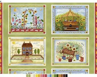 SALE - Windham Fabrics - Gazebo Collection - Gazebo Panel - PANEL Fabic