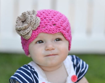 baby girl hat, baby hat, crochet baby hat, kids hat, crochet kids hat,  girls hat, pink baby hat