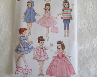 Butterick 5864 18 inch doll clothes Pattern - Chatty cathy  Doll clothes-18 inch