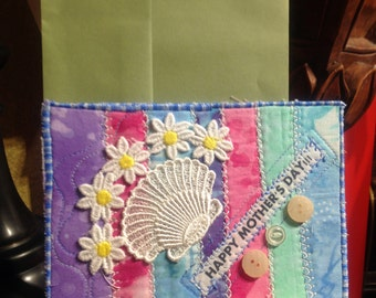 Lace & Daisies Mother's Day Card
