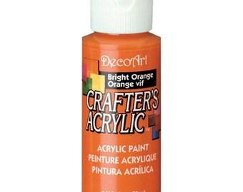Bright Orange Acrylic Paint (2oz)