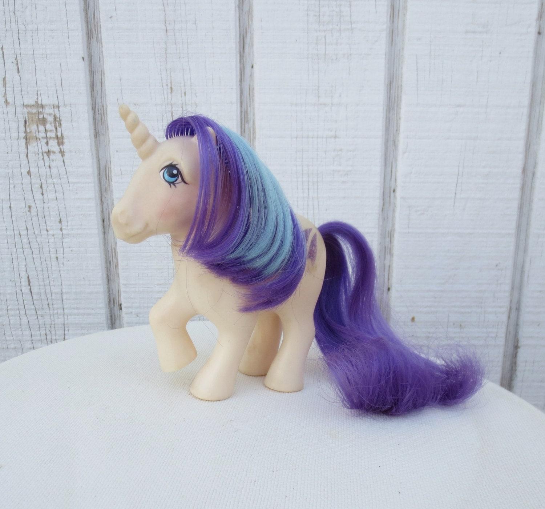 Vintage My Little Pony G1 Unicorn Glory 80 S Toy Pony Doll