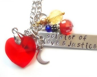 Soldier of Love & Justice Necklace
