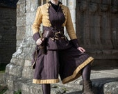 Automn - Steampunk pirate complete gown