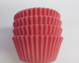 Light Pink Solid Standard or Mini  Cupcake Liners