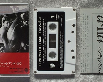 1985 a-ha Hunting High and Low Cassette Tape - Import